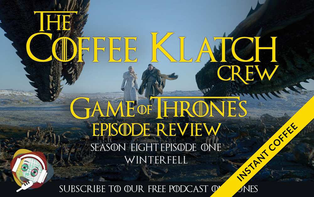 GOT - Game Of Thrones S8 E1 Instant Coffee - Winterfell